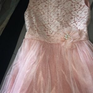 Other - Pretty Pink Flower Girl Dress Size 10